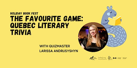 The Favorite Game: Quebec Literary Trivia tickets