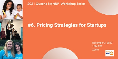 Pricing Strategies for Startups tickets