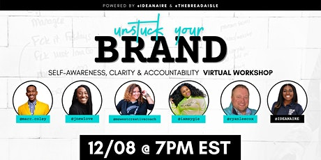 Unstuck Your Brand Virtual Workshop tickets