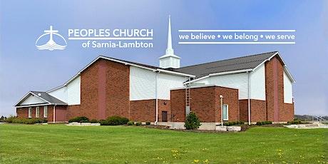Sunday Morning Worship Service #1 billets