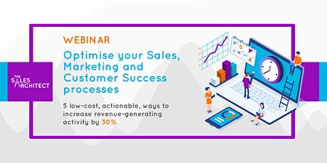 5 low-cost ways to optimise processes, regain time, and grow revenue by 30% tickets