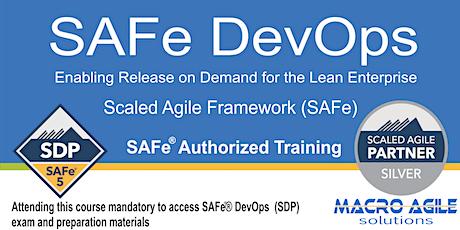 SAFe DevOps Training with Certification-Virtual Instructor Led Class billets