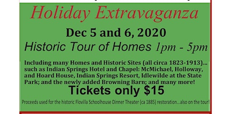 Historic Tour of Homes tickets