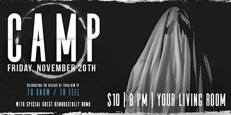 **POSTPONED**LIVE! from The RINO: CAMP with special guest Remorsefully Numb tickets