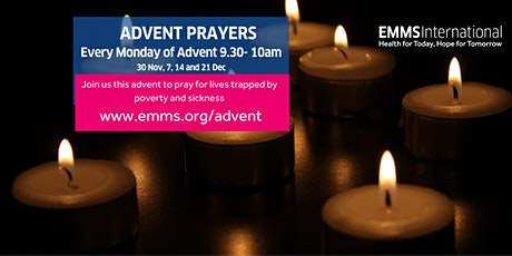 EMMS International Advent Prayers: waiting in hope tickets