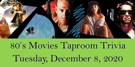 80's Movies Taproom Trivia tickets