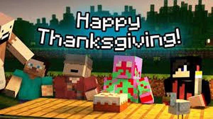 Thanksgiving Minecraft Coding Party image