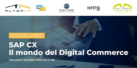 SAP CX - Il mondo del Digital Commerce biglietti