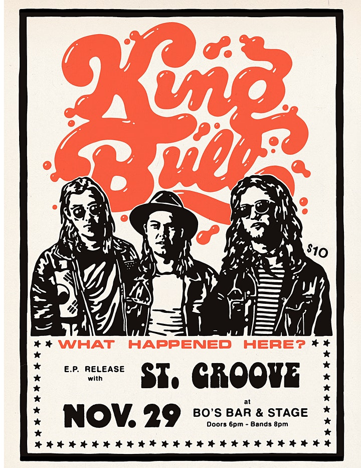 KING BULL EP RELEASE w/ ST. GROOVE image