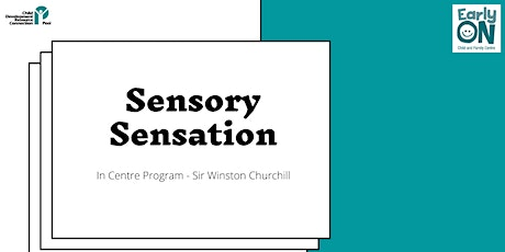 IN CENTRE PROGRAM - Sensory Sensation (Birth to 6 years) tickets