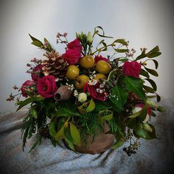 Christmas Workshop with No-ThirtySix and Spotless Rose Floristry image