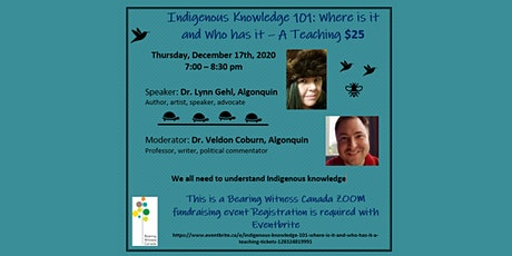 Indigenous Knowledge 101: Where is it and who has it - A Teaching tickets