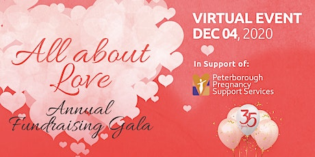 All About Love Annual Fundraising Gala – VIRTUAL EVENT tickets