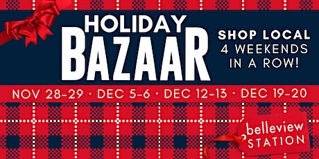 Holiday BAZAAR at Belleview Station tickets