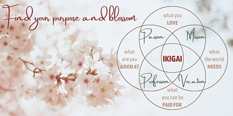 Find your purpose and blossom tickets