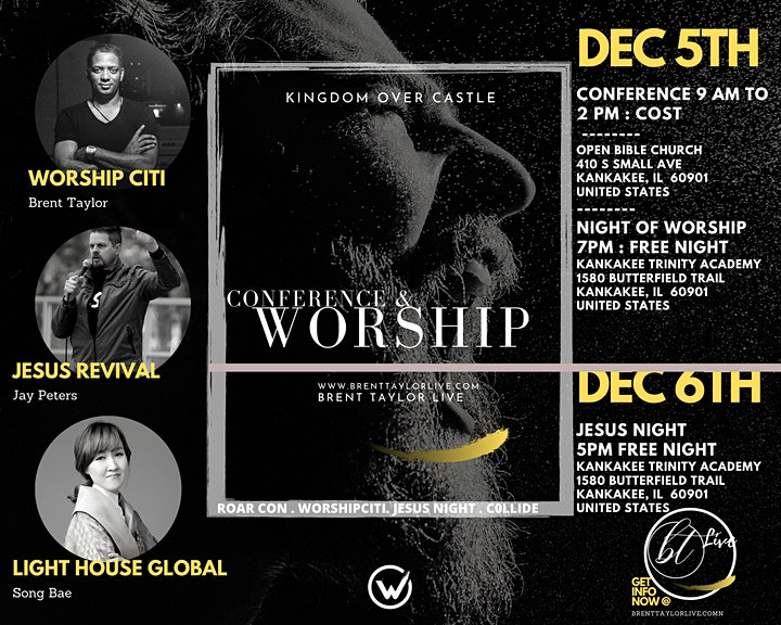 R.O.A.R. CONFERENCE CHICAGO w JESUS REVIVAL image