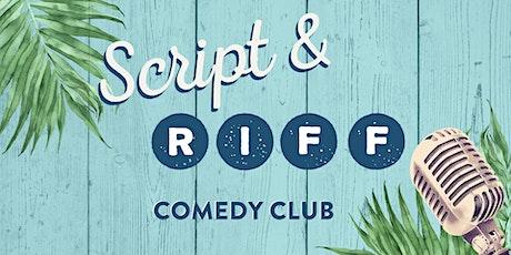 12/05/2020  |   21+ Script & Riff Comedy Club @ Margaritaville tickets
