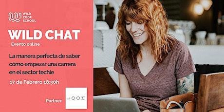 WILD CHAT - ¡Cambia de Carrera! - aprende a programar tickets