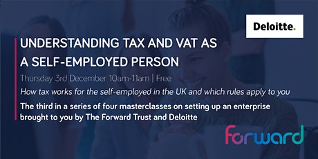Understanding Tax and VAT as a self-employed person tickets