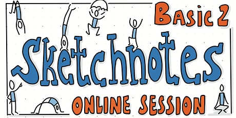 Sketchnotes Basic 2   Online Workshop Tickets