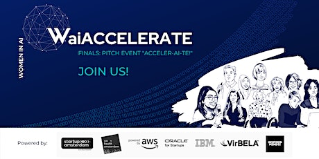 "WaiACCELERATE Finals: The Pitch Event ""ACCELER-AI-TE!"" (hosted in VR) tickets"