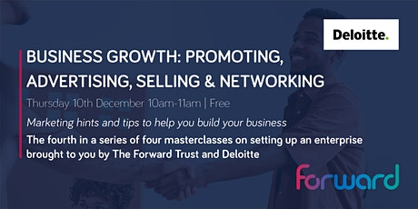 Business Growth: Promoting, Advertising, Selling & Networking tickets