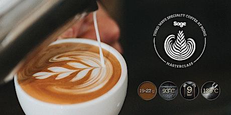 Démonstration café en ligne avec  Sage Appliances billets