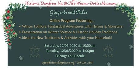 Gingerbread Tales tickets