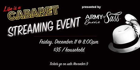"""Life is a Cabaret"" presented by AOS Barrie tickets"