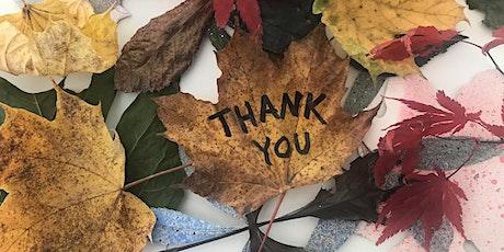 Thanksgiving Virtual Drawing Marathon: GIVING THANKS tickets