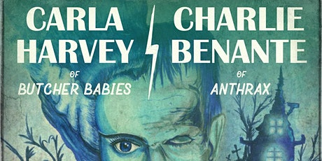 Carla Harvey & Charlie Benante ART show tickets