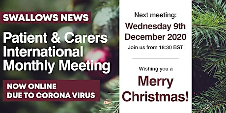 Virtual Patient & Caregiver Virtual Monthly Meeting tickets