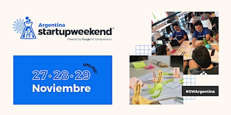 Techstars Startup Weekend Online Argentina 2020 boletos