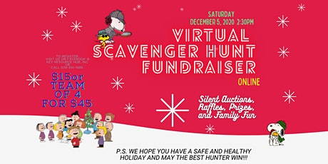 Virtual Scavenger Hunt Fundraiser tickets