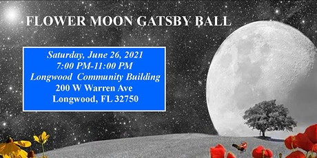 Flower Moon Gatsby Ball tickets