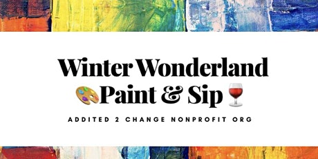 Winter Wonderland Paint & Sip tickets