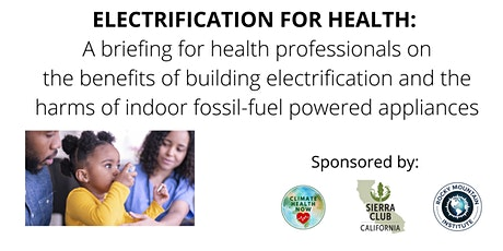 Health and Electrification: A Training for Health Professionals tickets