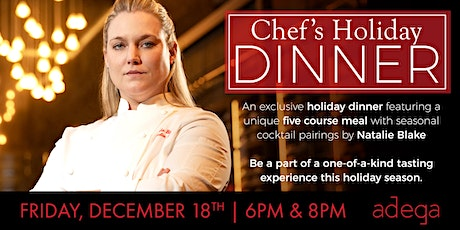 Holiday Chef's Dinner with Natalie Blake tickets