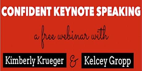 *Confident Keynote Speaking* tickets