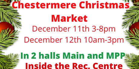 Chestermere Christmas Market tickets