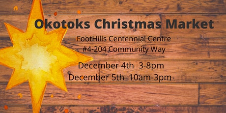 Okotoks Christmas Market tickets