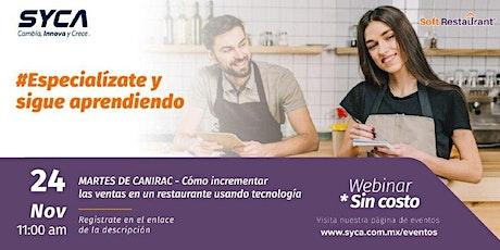 Cómo incrementar las ventas en un restaurante usando tecnología boletos