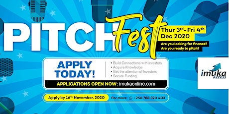 Imuka Access Pitch Fest tickets