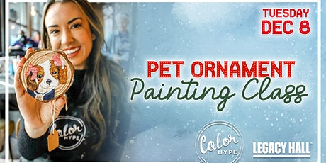 Paint Your Pet Ornament at Legacy Hall