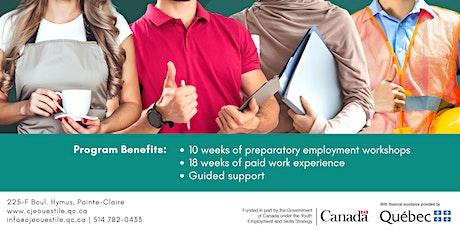 Programme d'intégration en l'emploi | Employment Integration Program billets