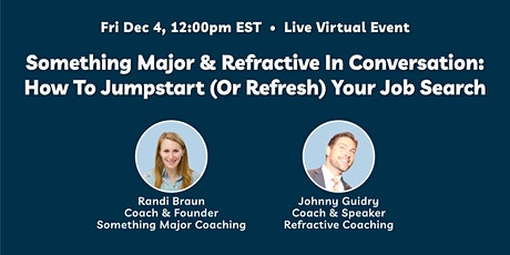 Coaches In Conversation: How To Jumpstart (Or Refresh) Your Job Search biljetter