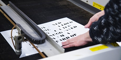 2D digital fabrication workshop tickets