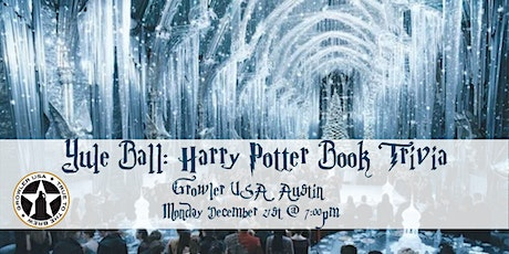 Yule Ball: Harry Potter Books Trivia at Growler USA Austin tickets