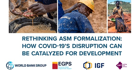 ASM Sector: How COVID-19's disruption can be catalyzed for development tickets
