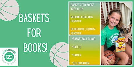 Baskets for Books tickets